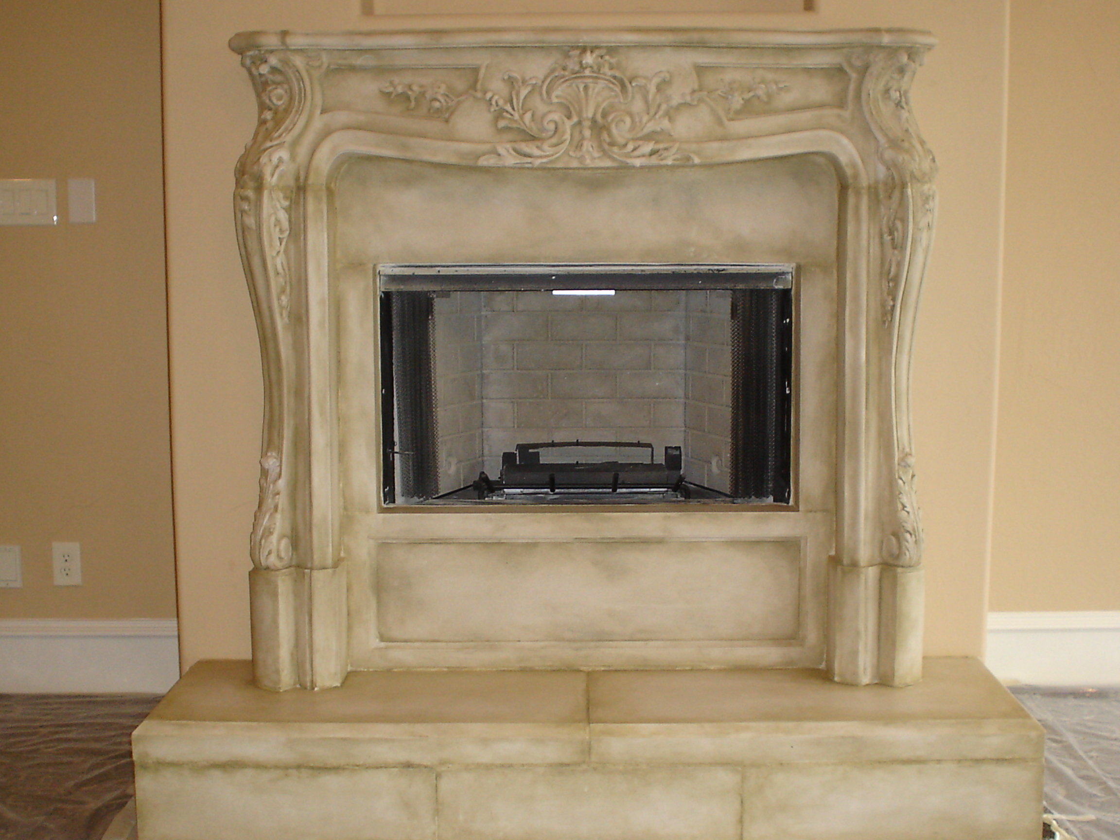 fireplaces cast mantels stone top fireplace of using benefits